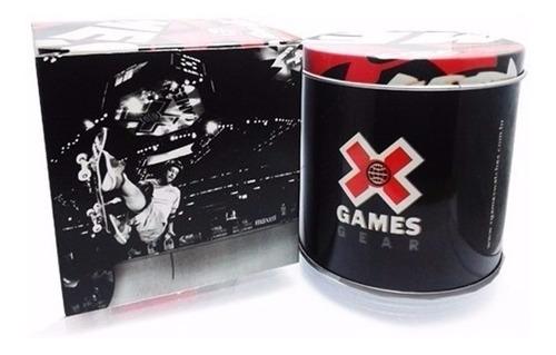relógio x-games masculino anadigi xmspa024 p2px aço oferta
