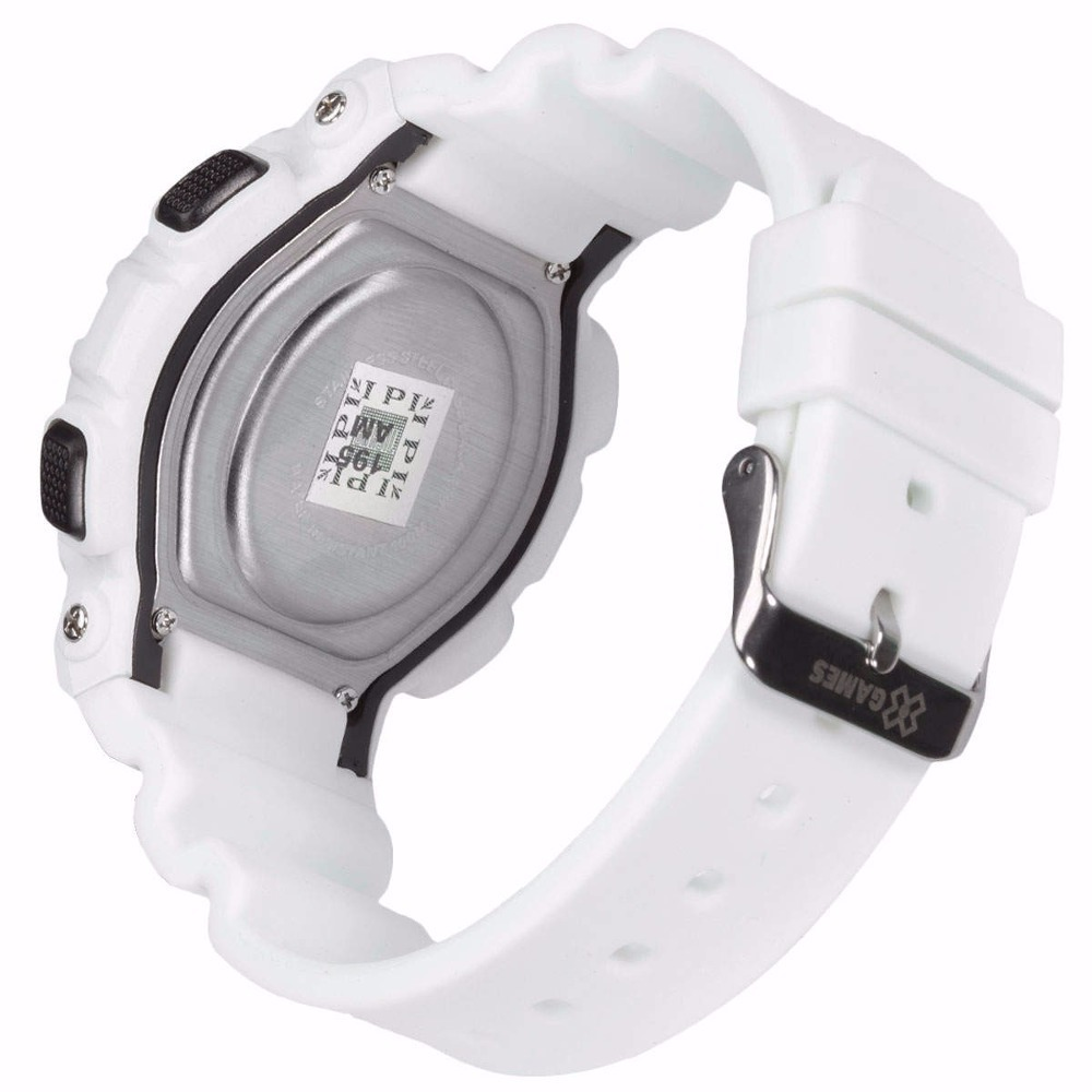 e4911ad1da3 relógio x-games masculino branco digital xmppd342 original. Carregando zoom.