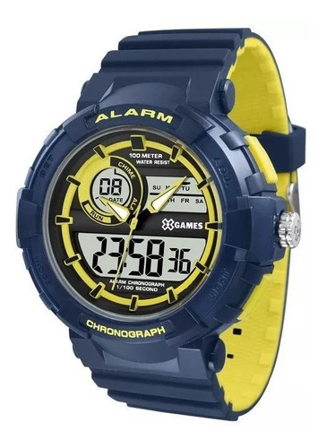 relógio x-games masculino digital xmppa264 bxdy