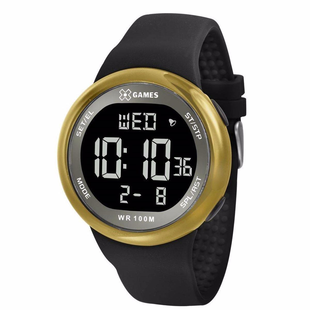 ca69f2316d6 relógio x-games masculino digital xmppd441 dourado. Carregando zoom.
