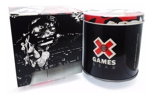 relógio x-games masculino digital xmppd485 grafite negativo