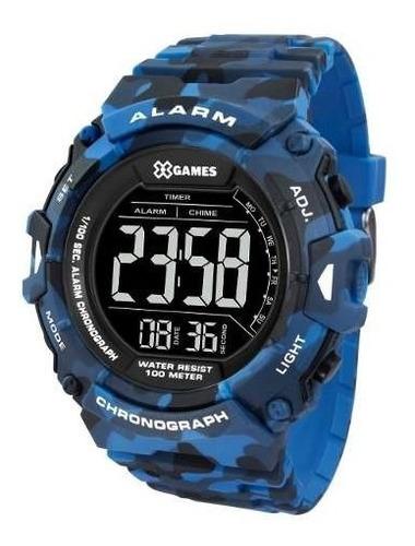 relógio x-games masculino digital xmppd489 pxdp