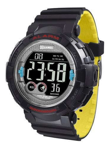 relógio x-games masculino digital xmppd534 pxpy negativo