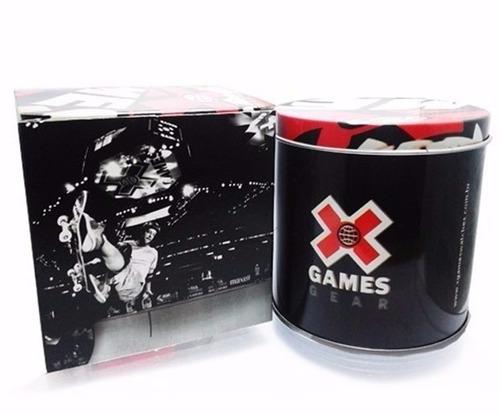 relógio x-games masculino digital xmppd573 verde negativo