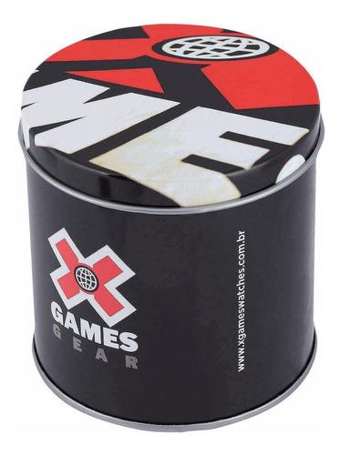 relógio x-games masculino quadrado  xkppd044 bxpx