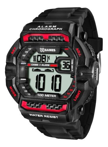 relógio x-games masculino xgppd086 bxpx re. autorizada - nfe