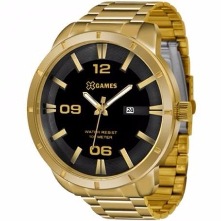 d57e8a72584 Relógio X-games Masculino Xmgs1014 P2kx Dourado Oferta - R  219