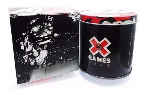 relógio x-games masculino xmgs1022 b2kx branco dourado