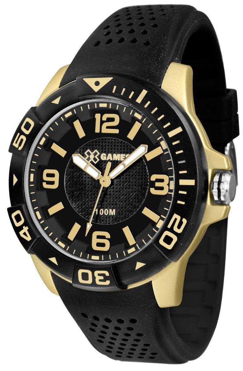 12b90dc2986 Relógio X-games Masculino Xmpp0019 P2px Dourado Analogico - R  158 ...