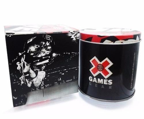 relogio x-games masculino xmpp0028 p2px vermelho analogico