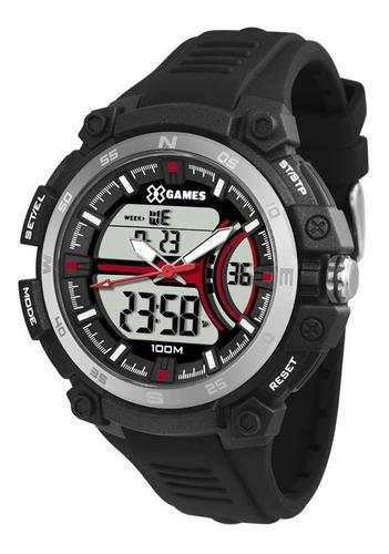 relógio x games masculino xmppa254 bxpx esportivo anadigi