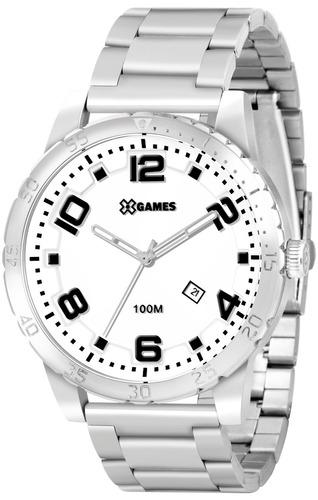 relógio x-games masculino xmss1016 b2sx aço