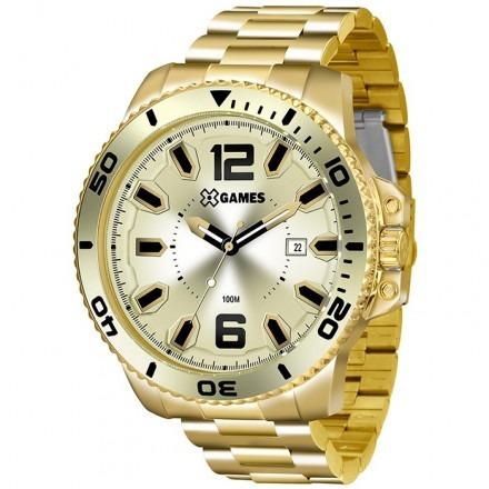 relógio x games  xmgs1019 c2kx dourado original