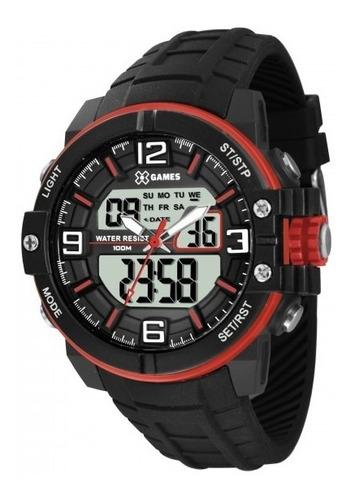 relógio x games xmppa228 bxpx masculino preto - refinado