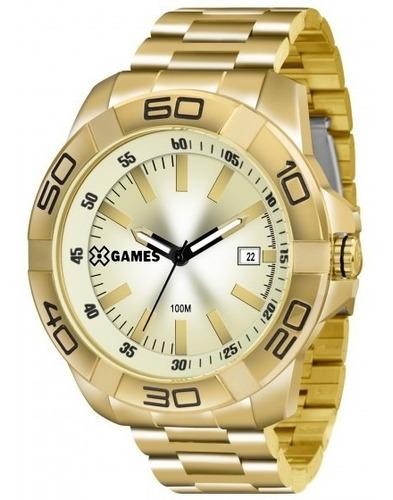 relógio xgames xmgs1020 c1kx masculino champagne- refinado