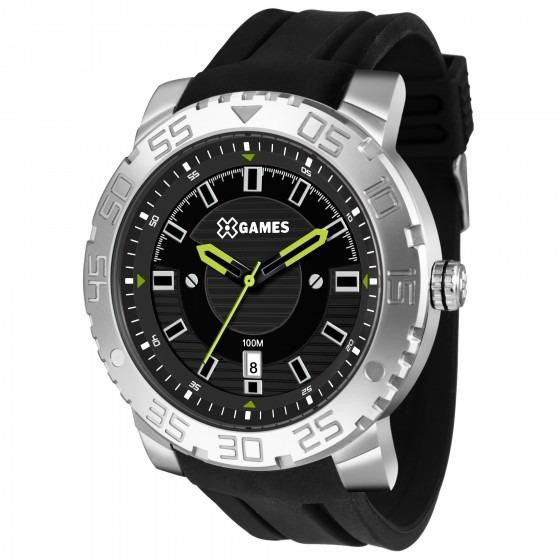 1151040e7da Relógio Xgames Xmsp1010 P2px Preto Masculino Xteel- Refinado - R ...