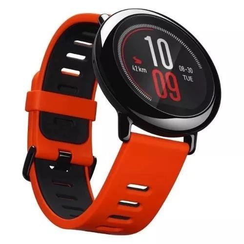 58b80ce0d6e Relógio Xiaomi Amazfit A1612 Gps Vermelho Promoção - R  748