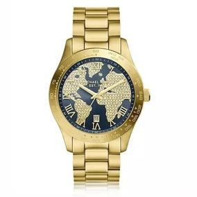 ba80b3c5e Lindo Relogio Michael Kors Quadrado - Relógios De Pulso no Mercado Livre  Brasil