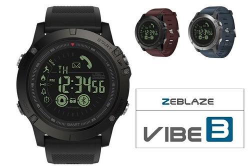 relógio  zeblaze  smart vibe 3 ip67 gorilla glass 4 original