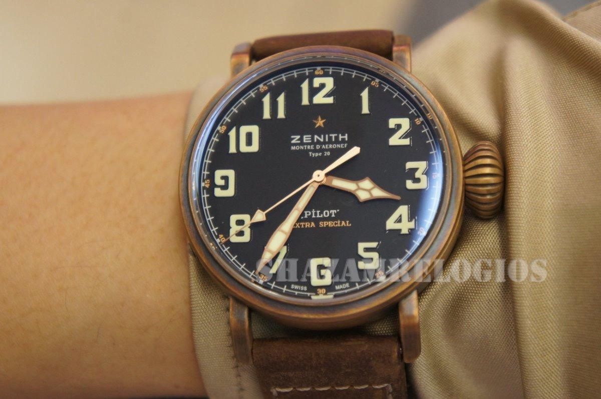 ac78d2935a9 relogio zenith pilot bronze envelhevida eta. Carregando zoom.