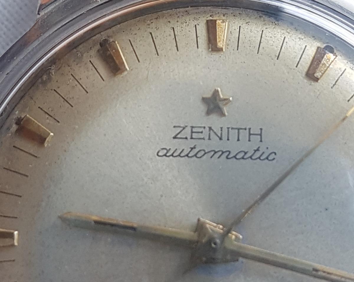9fdefbf7b2f relogio zenith vintage automatico e calendario. Carregando zoom.