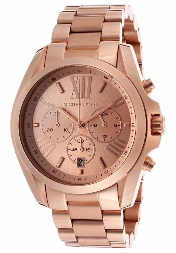 0b11cfda45a43 Relógio Zpl4309 Michael Kors Mk5503 Rose Feminino Classico - R  303 ...