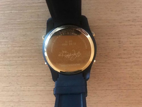 relógios 18k ronaldinho amsterdam e assinado pelo ronaldinho