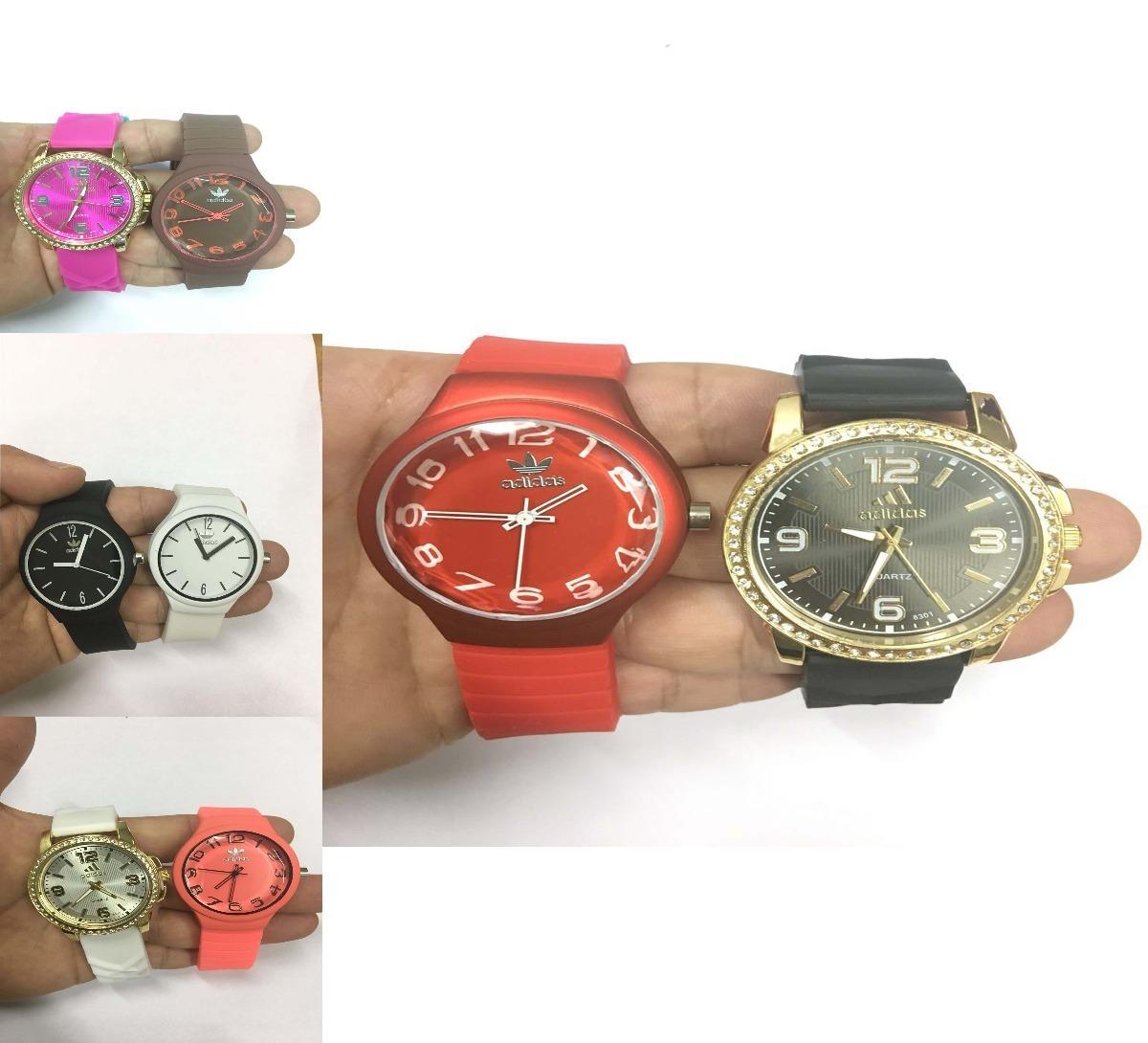 2593407b874 Relógios Atacado Feminino Kit40 De Silicone Colorido - R  440