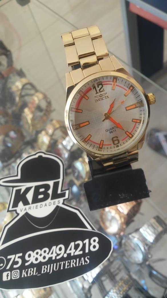 68082bd585e Relógios Barato Prata E Dourado Fotos Reais - R  38