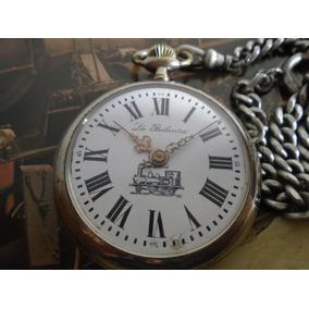 3be2785a5f8e7 Relogio Bolso Majestron Locomotiva Estrada - Relógios no Mercado ...