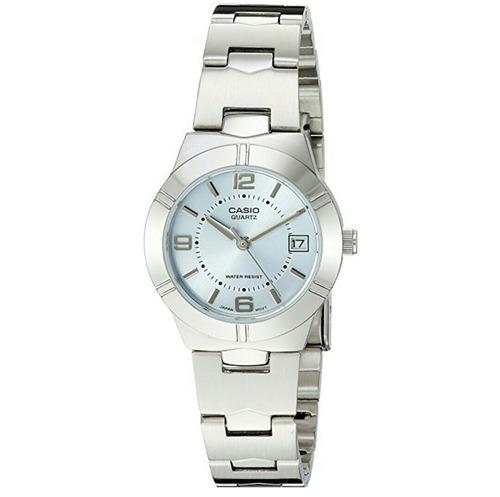 relógios casio classico feminino wr50m 25mm quartz