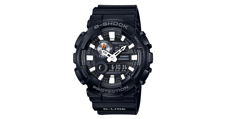 94e0a30412b Relogios Casio G-shock G-lide Gax-100b-1a Surf Original - R  598