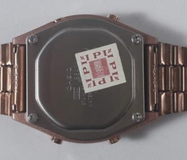 relogios casio rosê e prata digital original masculinos