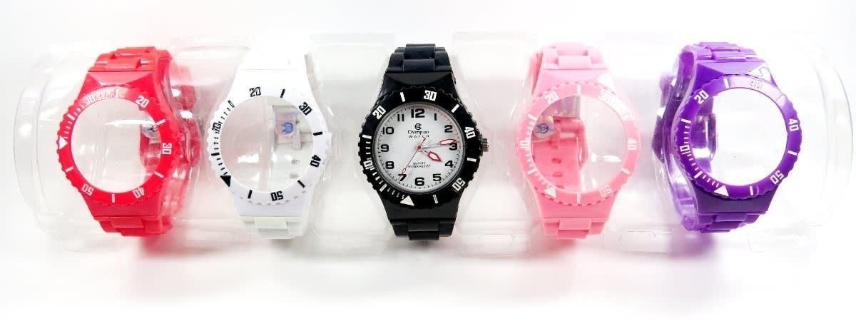 6b3d39fbc0f relogios champion watch troca 5 pulseiras coloridas promoção. Carregando  zoom.