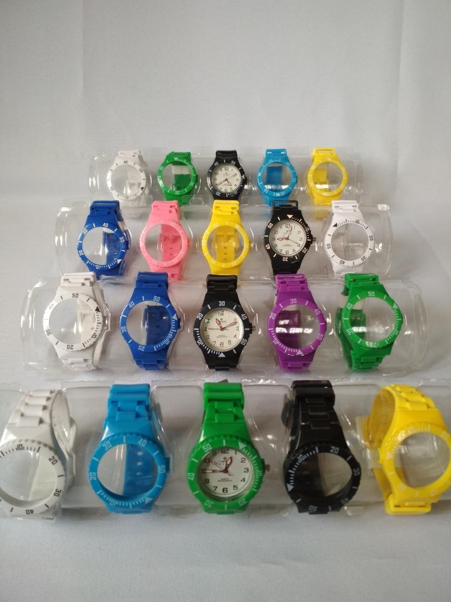 b8c42fed736 relogios champion watch troca 5 pulseiras coloridas promoção. Carregando  zoom.