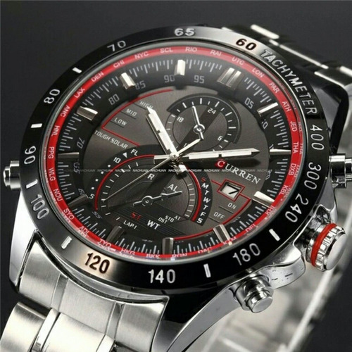 relógios curren relógios