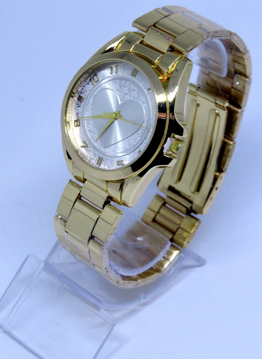 dc9c5c93205 relógios dourado feminino vários modelos lindos promoção. Carregando zoom.