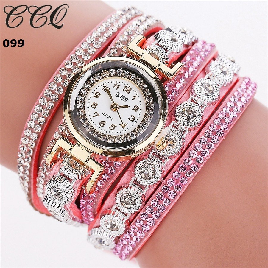 099ab13aaa7 relogios feminino pulseira com strass (varias cor) ccq. Carregando zoom.