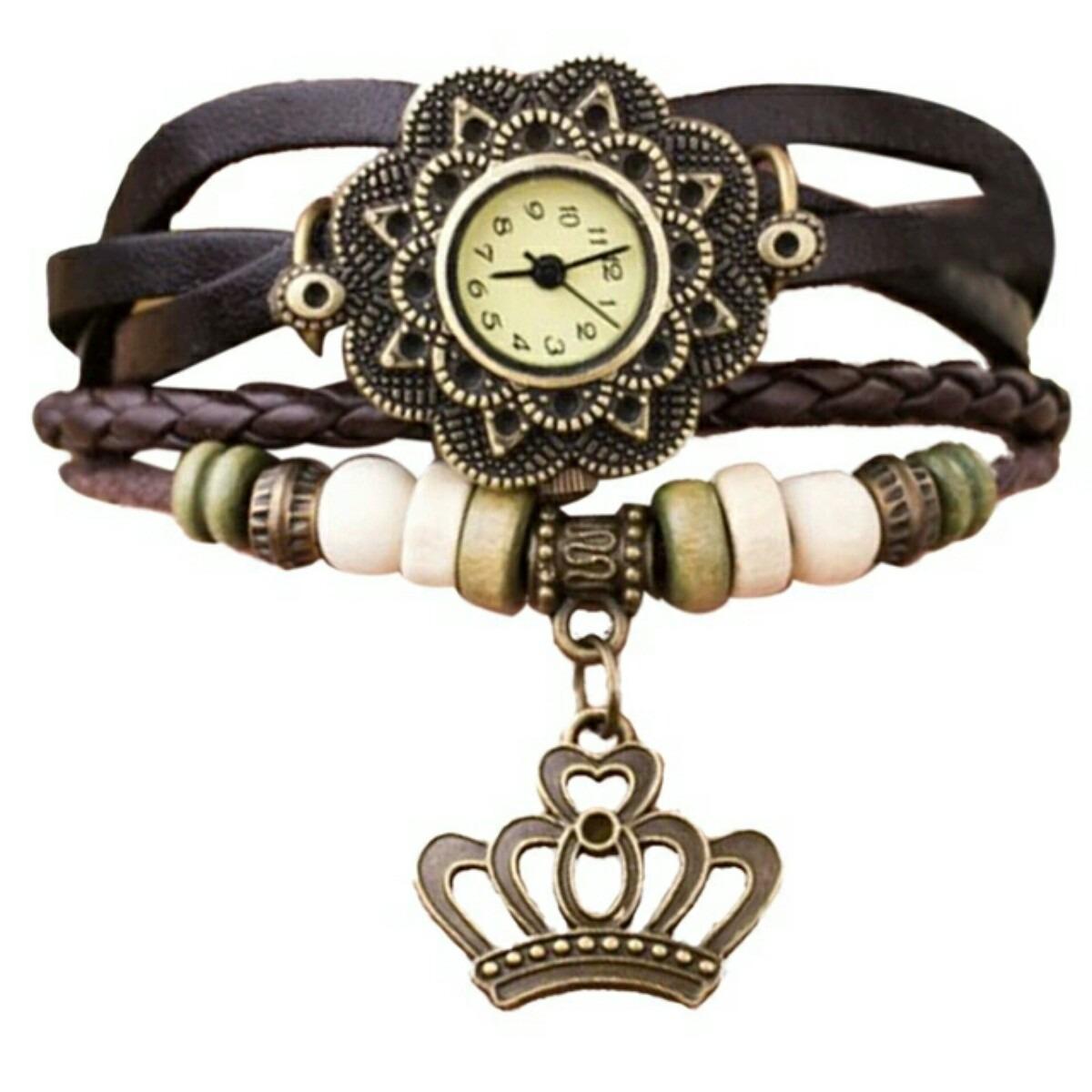 15b0ab9301f relógios femininos de pulso pingente artesanal de couro. Carregando zoom.