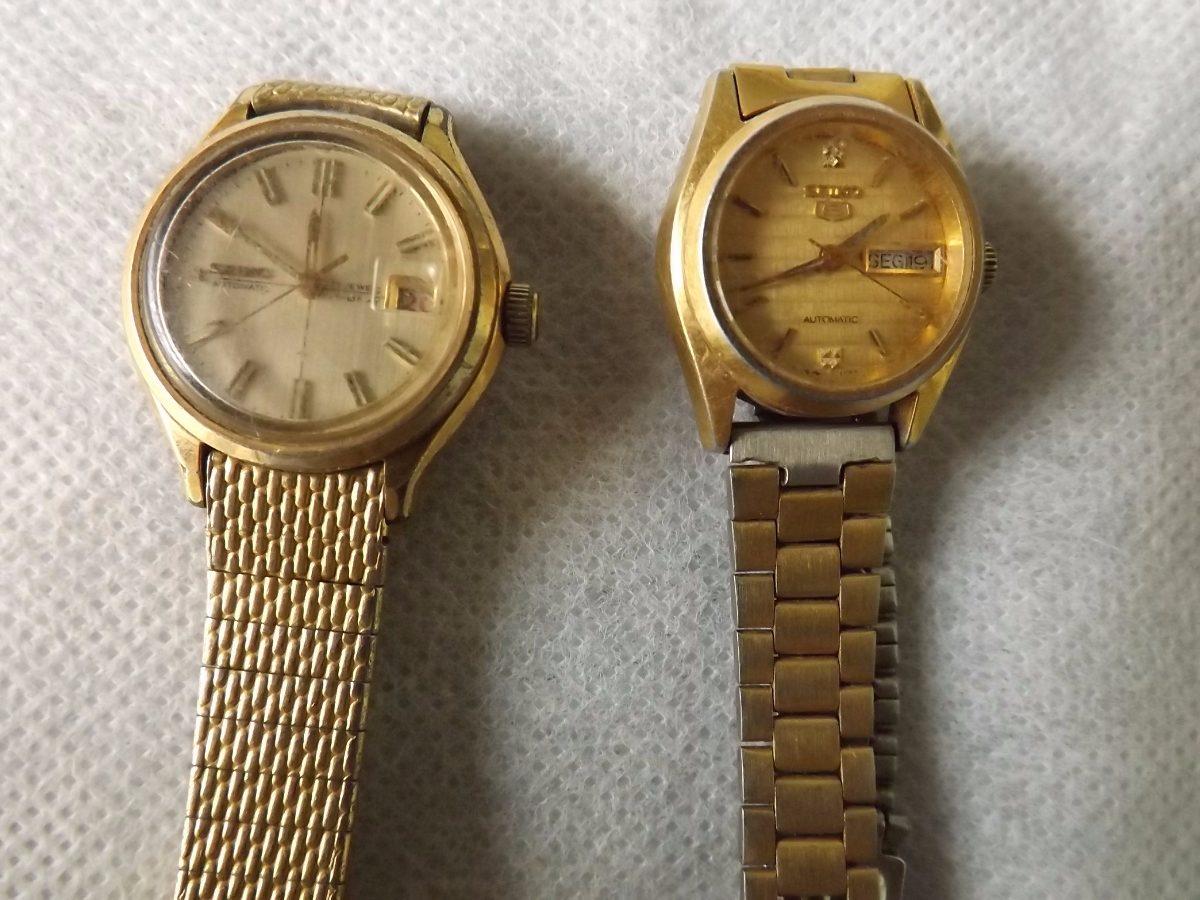 a56b0846fd0 relógios femininos seiko dourado - valor do lote   2354. Carregando zoom.
