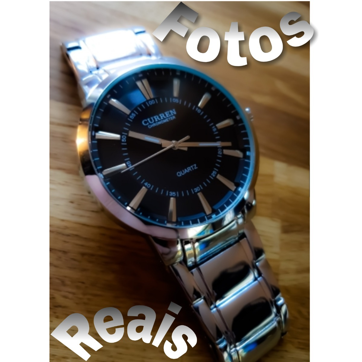 10ea92435ea Relógios Masculino + Fone De Ouvido Com Cabo Longo Fone Fio - R  109 ...