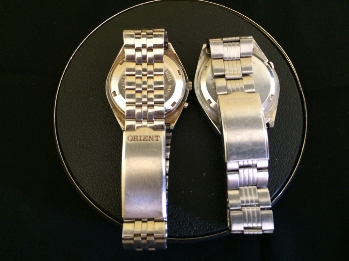 1528234bbbc Lote 2 Relógios Masculino Seiko E Orient - R  199