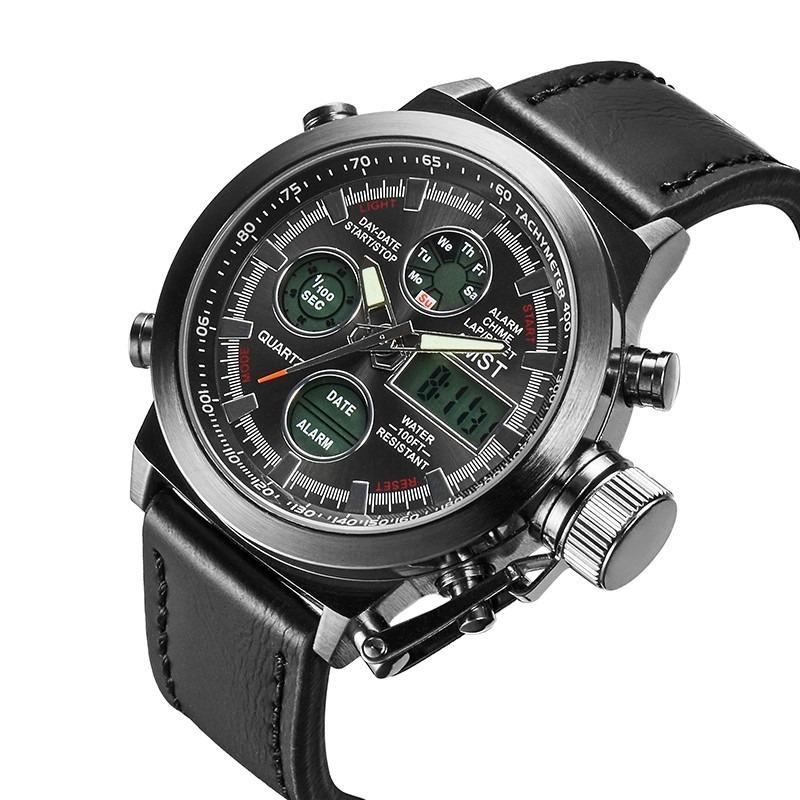 41d7e1bc445 relógios masculinos amst 3003 militar esportivo promoção. Carregando zoom.