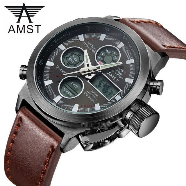486823d4678 Relógios Masculinos Amst Esportivo Promoção - R  89