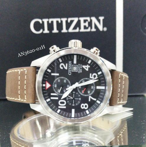 relógios masculinos citizen an3620-01h original