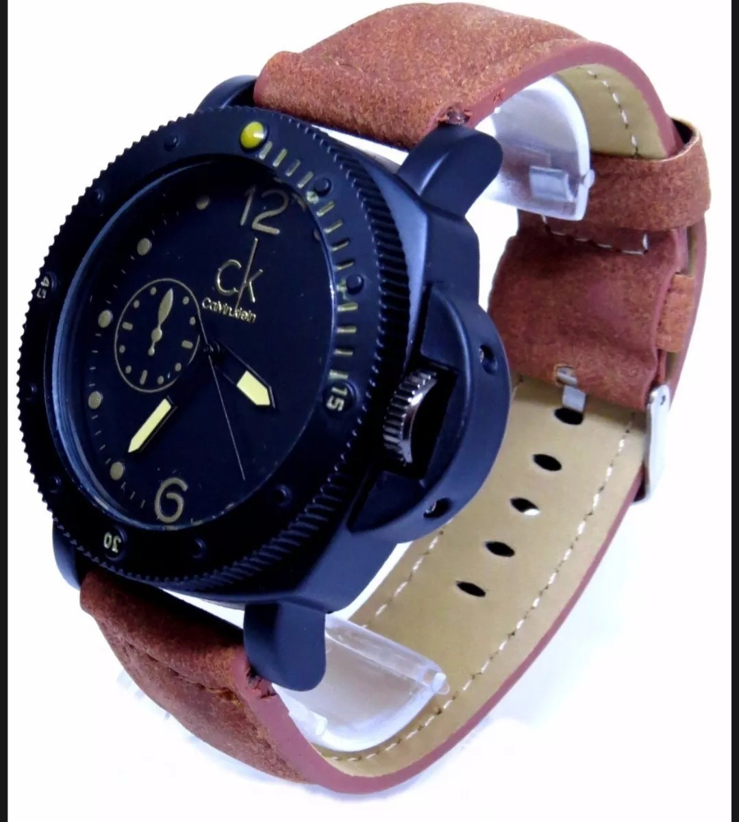 Relógios Masculinos Ck A Prova D água + Óculos - R  120,00 em ... c0aac7a4fe