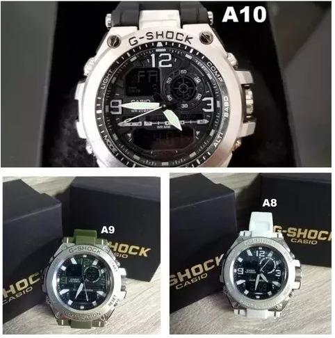 86115cea973 Relógios Masculinos Digital Prova D  Água G-shock Steel - R  120