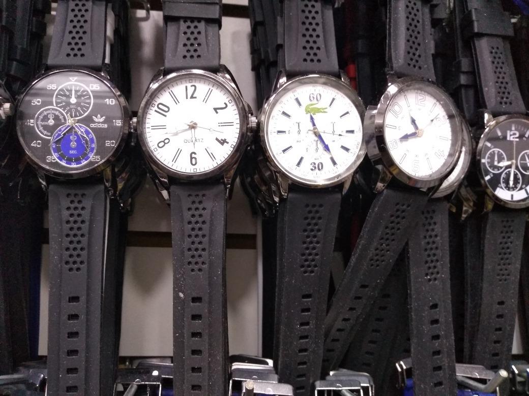 468379cbf4429 relógios masculinos e femininos kit com 10 + caixas. Carregando zoom.