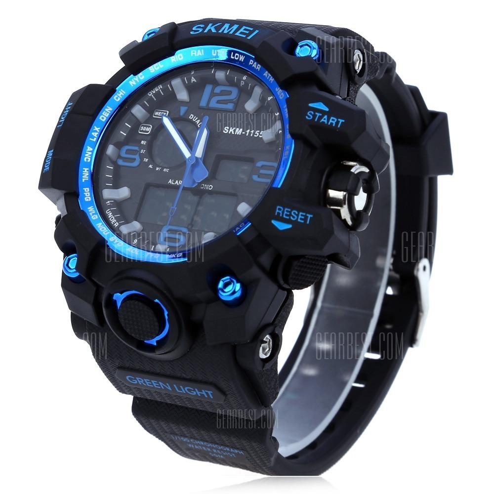 70e6ef9b774 relógios masculinos g-shock original analógico digital azul. Carregando  zoom.