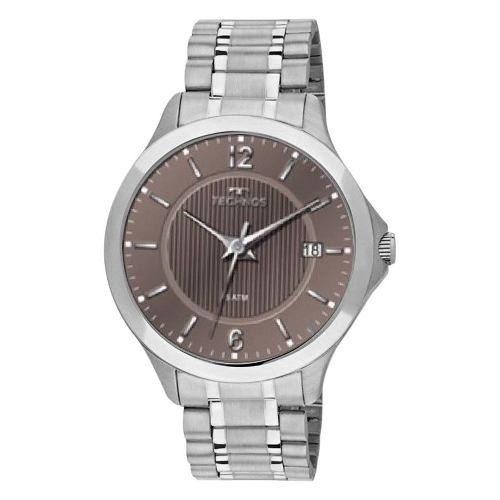11bea5d088e Relógios Masculinos Technos 1s13ca 1 Pulseira Aço Prata C Nf